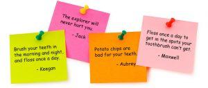 Children's Dental Entries
